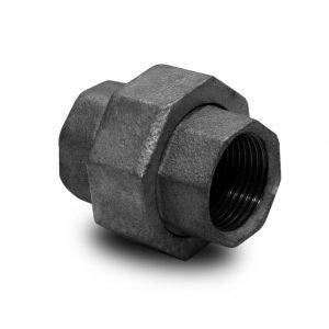 accesorios hierro maleable 150 union doble plana 2