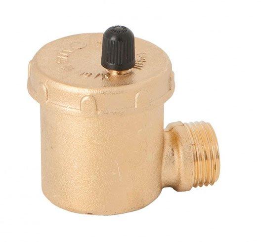 purgador automatico de aire cierre manual y conexion lateral