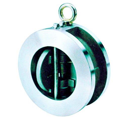 valvula de retencion tipo wafer de doble disco