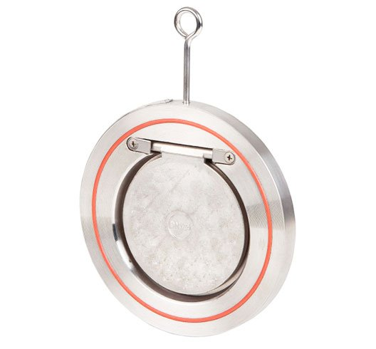 valvula de retencion tipo wafer de simple disco